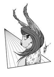Ink-Profile N°49:Endless the Caracal (Art Trade!)