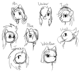 People I Am Gonna Try to Meet at BronyCon