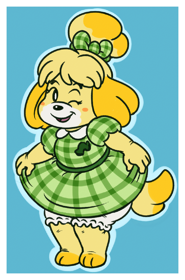 Isabelle's New Threads