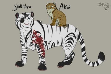 Feral form Akai and Yuki