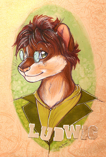 Most recent image: Small badge for Ludwig