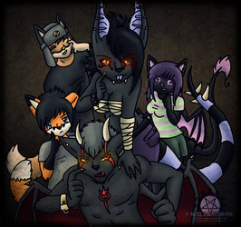 Gift- Furry group shot