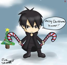 Chibi Kirito Christmas Present For Konnor