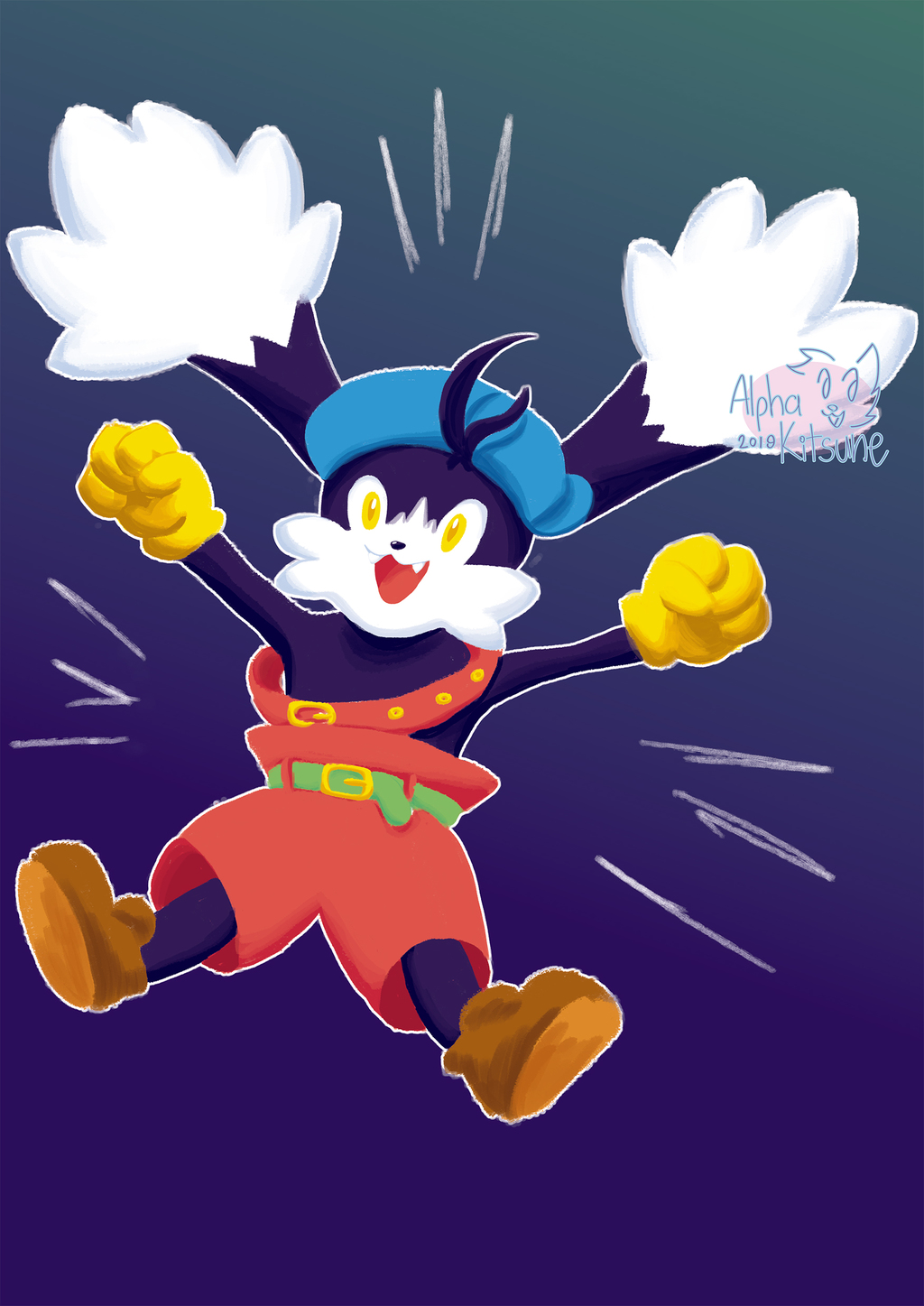 Most recent image: Klonoa Lineless WAHOO!