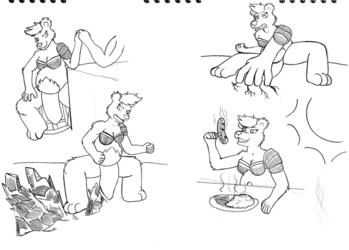 Etna Doodle
