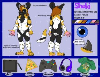 Reference Sheet: Shoki