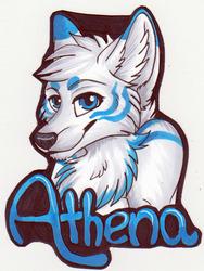 RMFC 2015 preorder: Bust badge - Athena