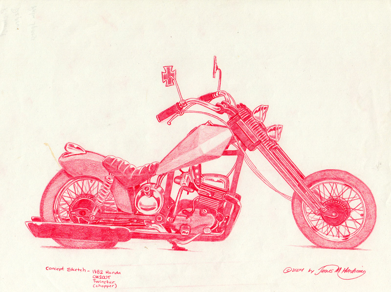 Most recent image: Chopper concept from 2004