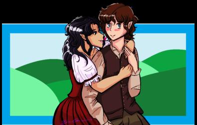 [Commission] Ebony/Frodo