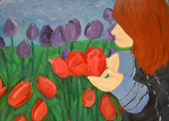 Lets Smell the Tulips