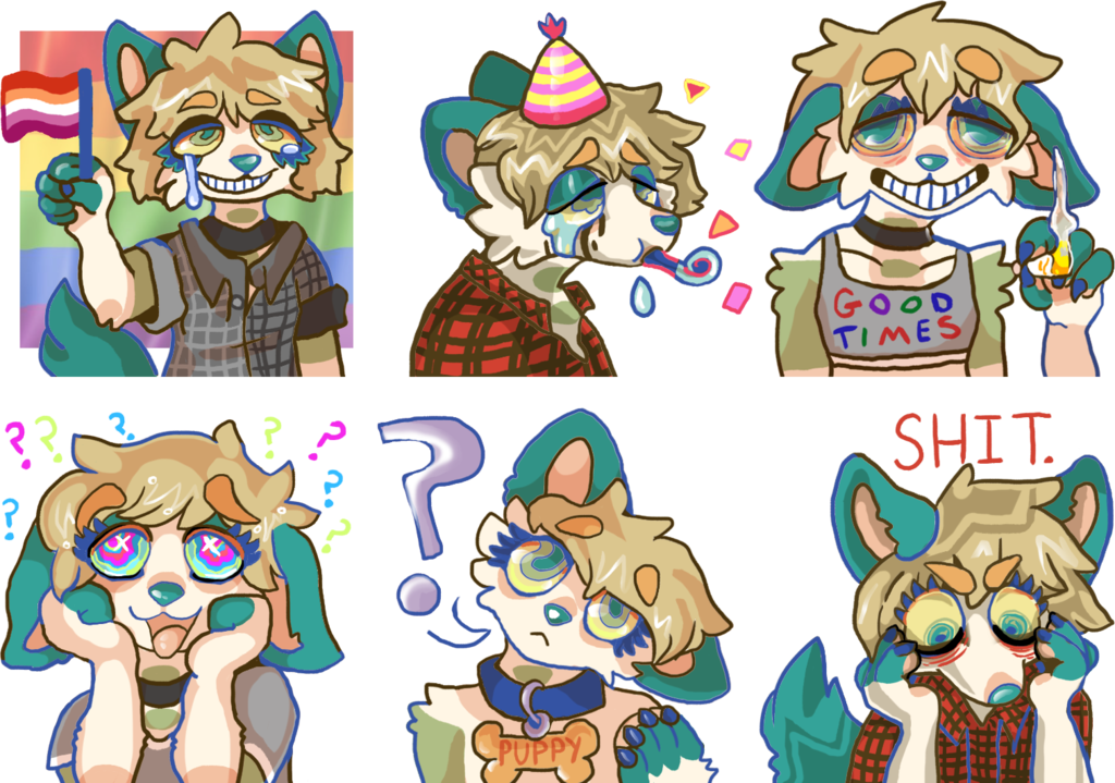 DANES WORLD Telegram Sticker Pack Update — Weasyl