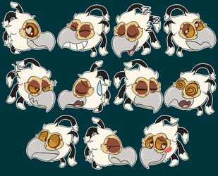 [C] Kauko Sticker Set
