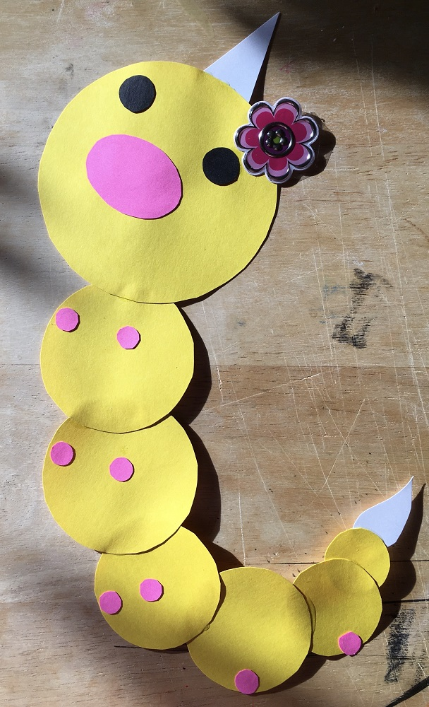 Most recent image: papercraft decor: blossom the weedle