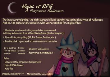 Night of RPG: A Foxyverse Halloween