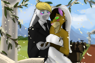 And then the wedding