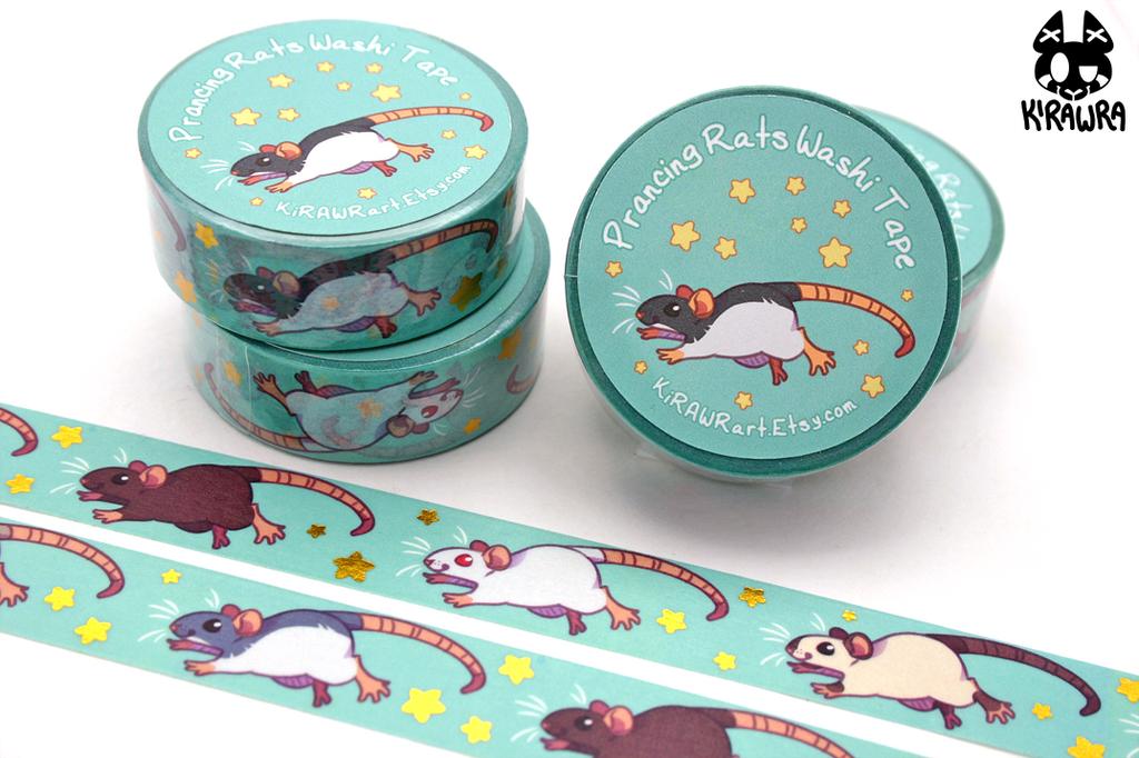 Prancing Rats Washi Tape