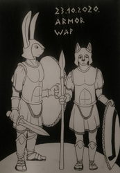 Inktober 2020 - 14 - Armor