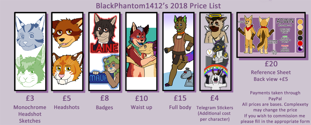 Commission guide 2018