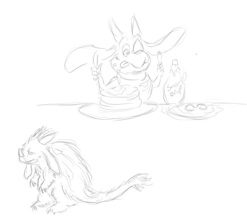 Dragonhead Stream doodles
