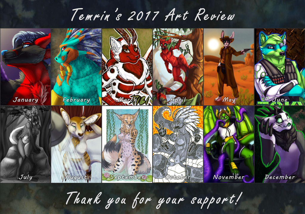 2017 Review / Improvement Meme.