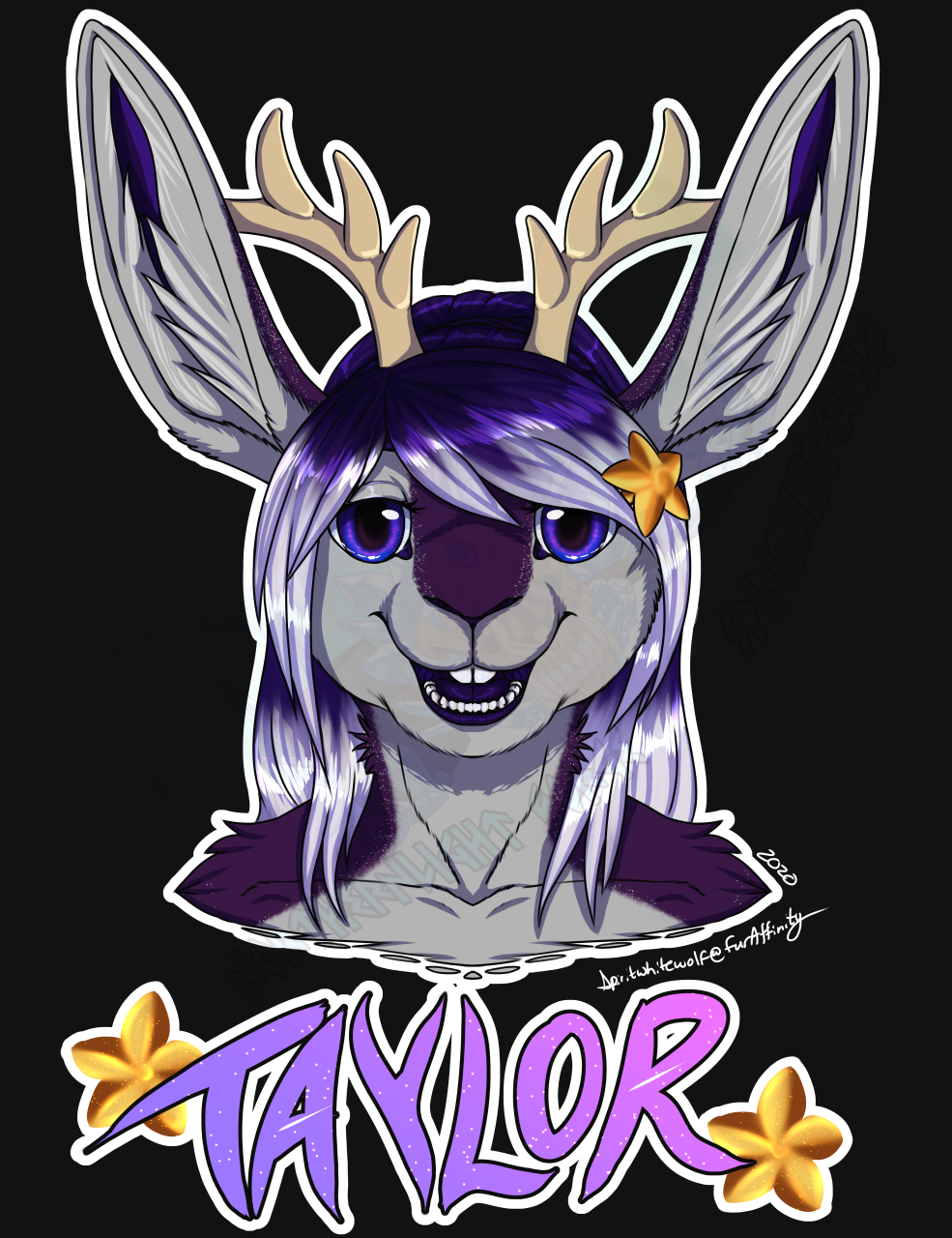 Most recent image: [C] Badge Commission - Taylor