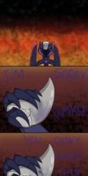 Soundwave mourns the lost child
