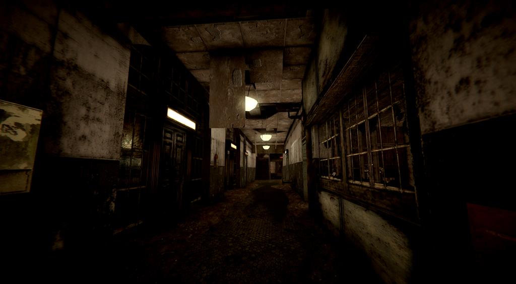 dark asylum hall