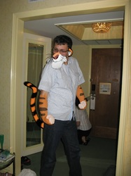 a tiger present for tigerman