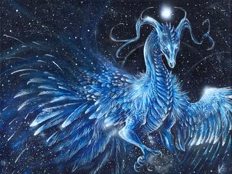 Twinkling Ice Dragon