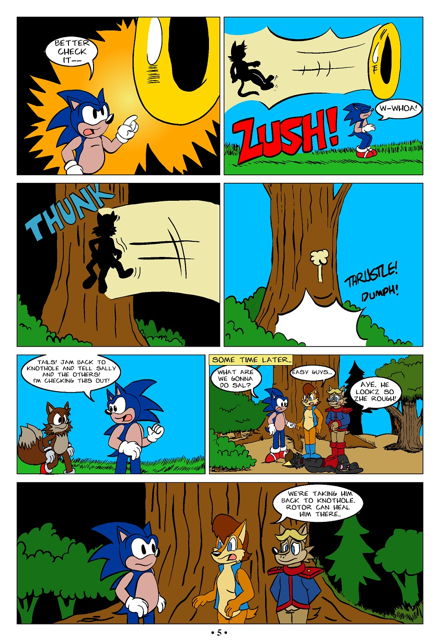 Sonic OC Fanfic Comic - Page 5