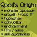 Spoil's Origin