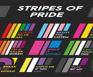 [MERCH] Stripes of Pride (June 2019 update)