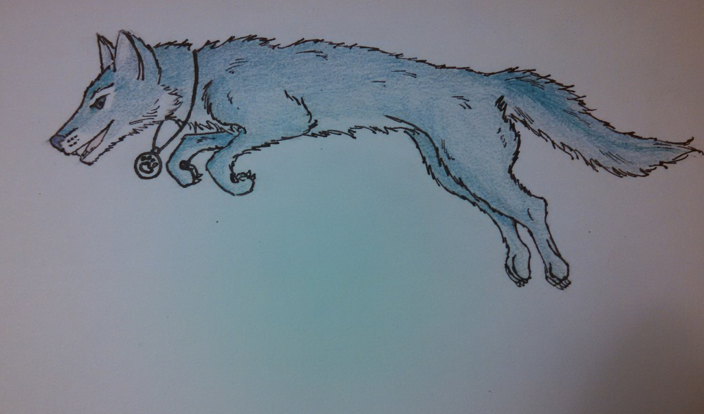 Most recent image: Dusk-wolf