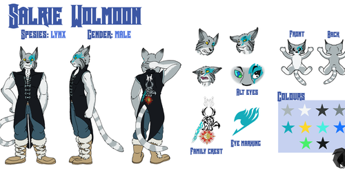 Salrie Wolmoon Reference Sheet