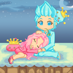 MS2: RoseCrayon + TealCrayon -Color-
