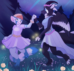 Forest Dance - Commission