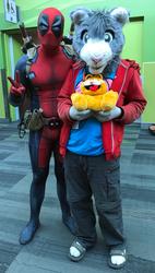 Peter and Deadpool (Fanime'19)