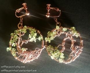 Ygdrassil Earrings