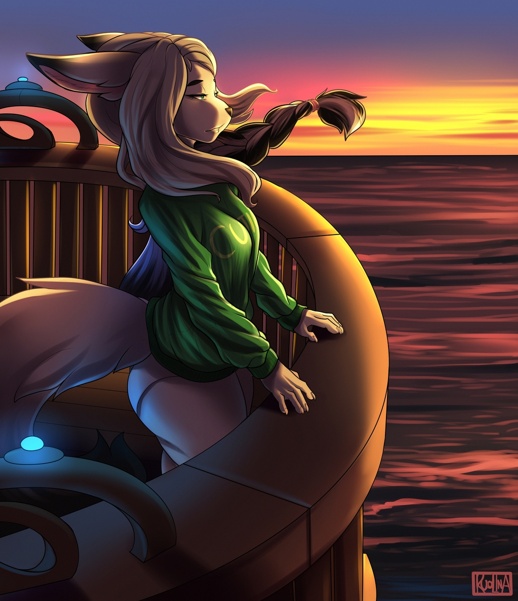 The Sea is Calling - By Ruolina