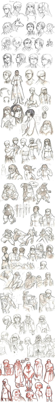 Scarecrow Doodles