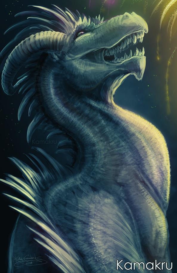 Even dragons enjoy fireworks!
