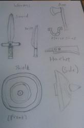 Blacksmith Weapons