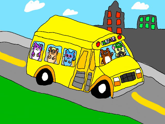 Hamster Pals Bus