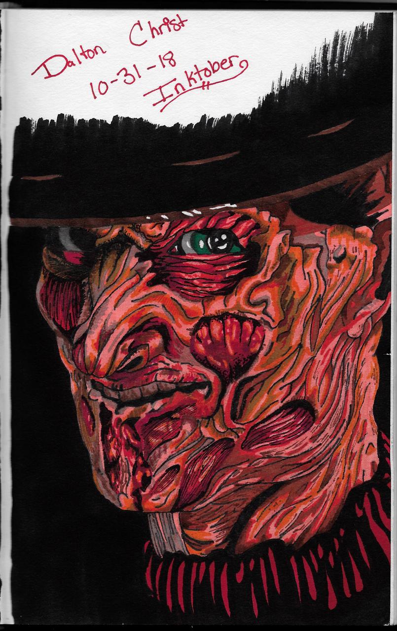 Freddy's Here! (Inktober 2018, Piece 31)