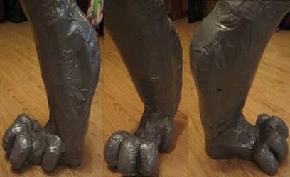 Rathnait feet WIP