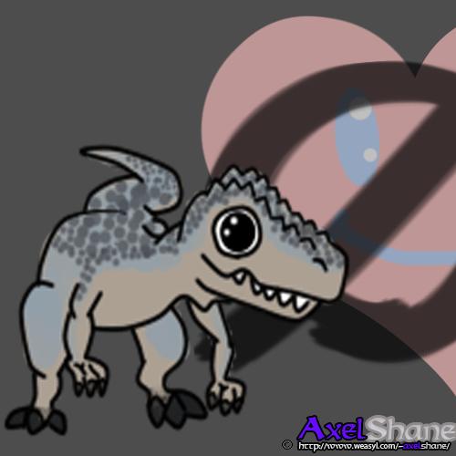 Valentine Cutevatar: Allosaurus