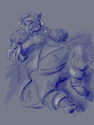 Pirate Rat Sketch