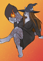 Luci the Flame Witch
