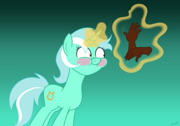 Lyra Has Gloves