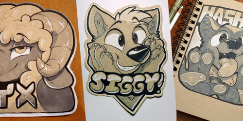 Some badges!